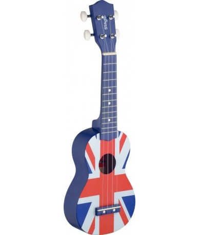 STAGG US UK-FLAG ukulele