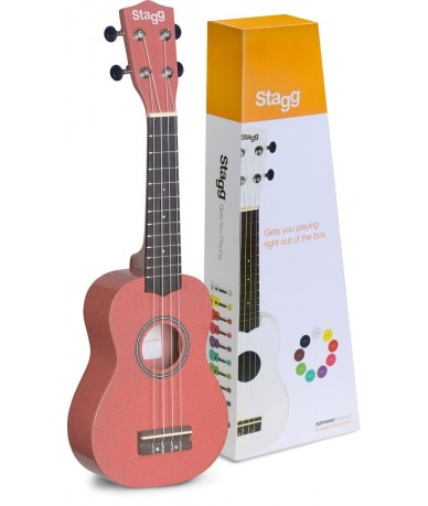 STAGG US-LIPS ukulele
