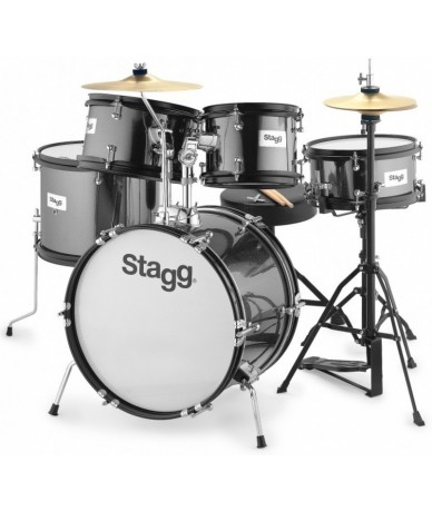 STAGG TIM JR 5/16B BK...