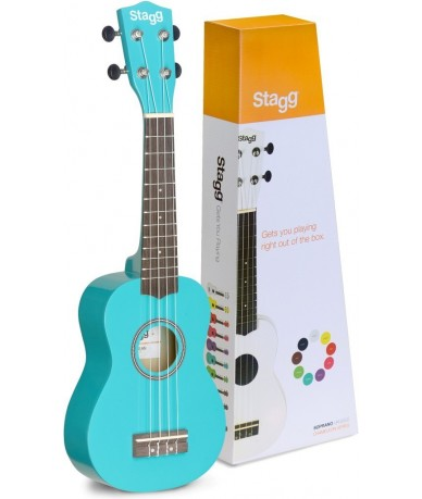 STAGG US-OCEAN ukulele, tokkal