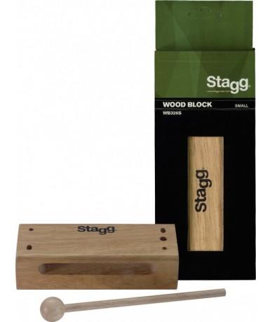 STAGG WB326S kicsi fa blokk