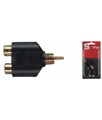 STAGG AC-2CFCMH RCA adapter