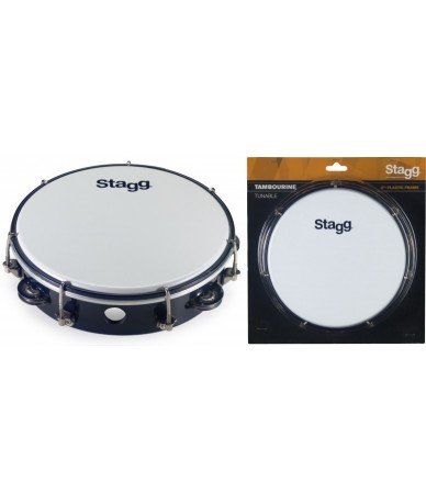 Stagg TAB-108P/BK csörgődob