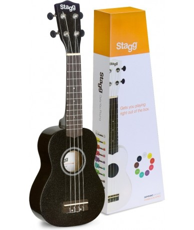 STAGG US-Night ukulele