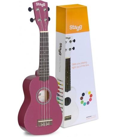 STAGG US-VIOLET ukulele