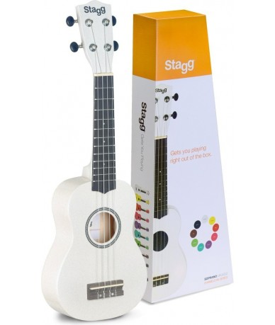 STAGG US-WHITE ukulele