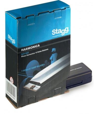 STAGG BJH-B20B szájharmónika