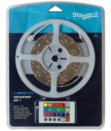Stagg SLI DSTK RGB1-3 ledcsík