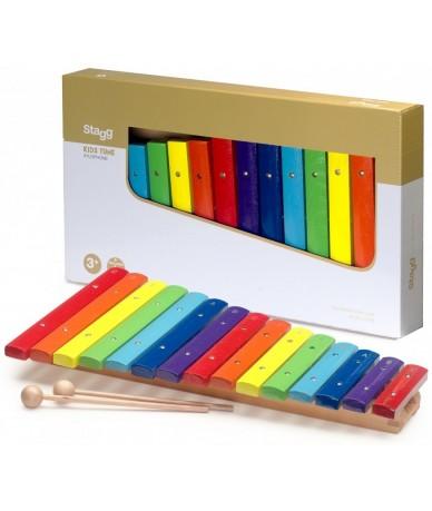 Stagg XYLO-J15 RB fa xilofon