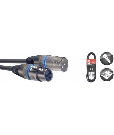 STAGG SMC1BL mikrofonkábel