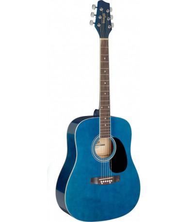 STAGG SA20D BLUE akusztikus...