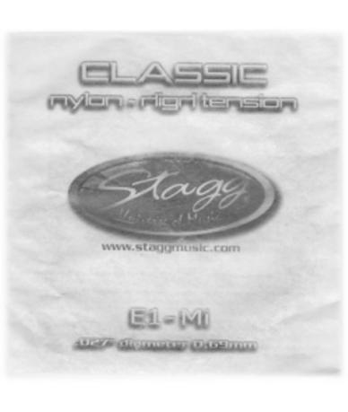 Stagg CLN-B2N klasszikus E húr